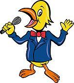 bird singing karaoke