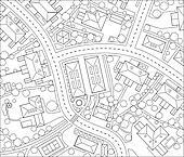 Neighborhood outline