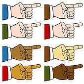 Finger Pointing Set