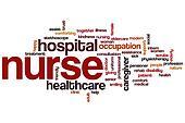 Nurse word cloud