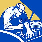 Automobile car repair mechanic