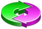 cycle process circle arrows 3D