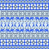 African blue texture