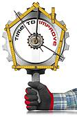 Time to Improve - Home Improvement Sign
