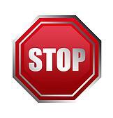 Stop illustration