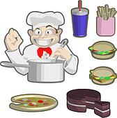 chefs and food