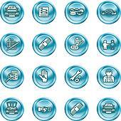 car dealer icons