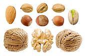 Nuts set.