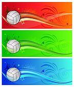 volleyball sport background