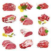 Meat pork set