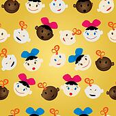 newborn faces pattern