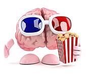3d Brain at the movies