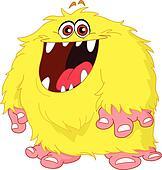 Hairy monster