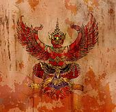 Garuda, Thai mythology eagle or bird