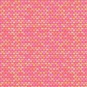 Small Hearts Pattern in Pastel Shades, vector