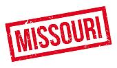 Missouri rubber stamp