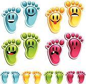 Happy Smiley Feet