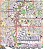 Las Vegas Nevada aerial view