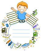 Kid Student Frame