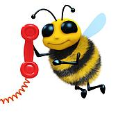 3d Telephone bee