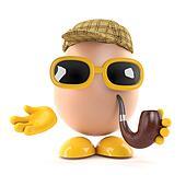 3d Sherlock egg