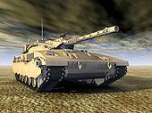 Israeli Main Battle Tank
