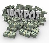 Jackpot 3d Word Cash Money Winnings Lucky COntest Winner