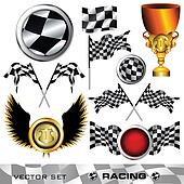 Checkered symbol set