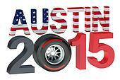 F1 Formula 1 Grand Prix in USA 2015