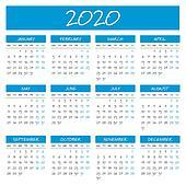 2020 Clip Art - Royalty Free - GoGraph