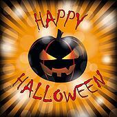 Happy Halloween Pumpkin Rays