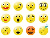 smileys different emotions