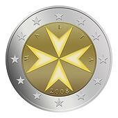 Maltese 2 Euro Coin