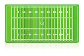American football field with grass (noise) texture.