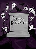 Halloween Tombstone