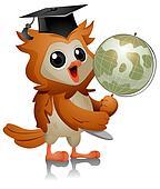 Owl Globe