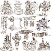 Religion and Spiritual Life around the World (set no.6)