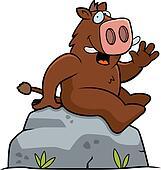 Boar Sitting