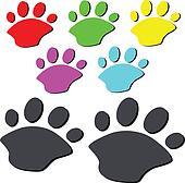 bear paw illustration