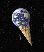 Ice Cream (Earth on Waffle Cone)