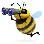 3d Bee searches