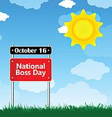 national boss day