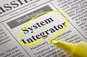 System Integrator Vacancy in Newspaper.