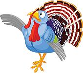 Thanksgiving Cartoon Turkey presen