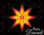 diwali floral background