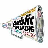Public Speaking Bullhorn Megaphone Communication Ideas Advice