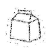 people  shape  package paper