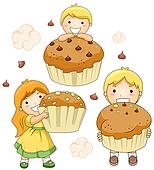 Kids and Cupcakes