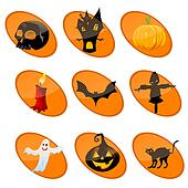 elememts of halloween