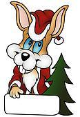 Christmas Rabbit
